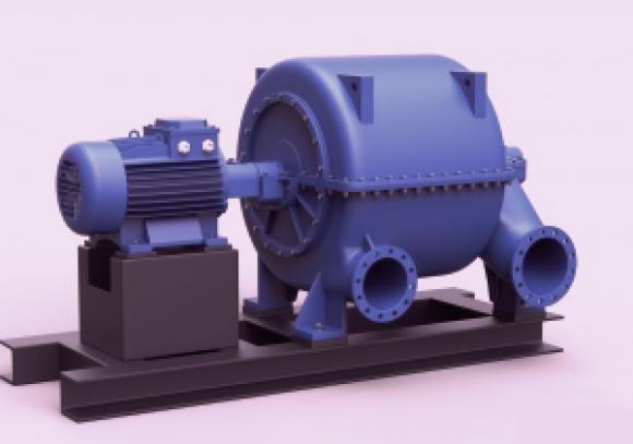 Турбокомпрессор многоступенчатый газовый ТВ-42-1,4